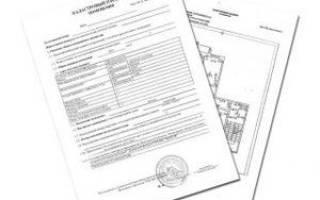 Технический паспорт БТИ или кадастровый паспорт объекта