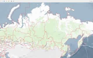 Публичная карта Росреестра Новосибирской области