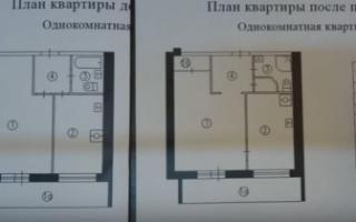 Перепланировка трехкомнатной квартиры в доме серии И-209А
