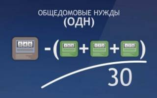 Оплата электроэнергии на ОДН