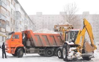 Плохо убирают снег: куда жаловаться