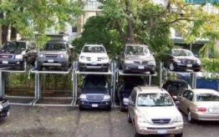 Как сделать парковку во дворе по закону